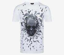 T-Shirt Shattered Skull