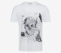 "T-Shirt aus Bio-Jersey mit ""London Map""-Print"