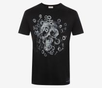 T-Shirt Mechanical Skull