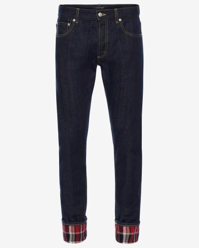 Jeans aus schwerem japanischem Denim