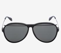 Aviator-Sonnenbrille aus Acetat mit Piercing-Details
