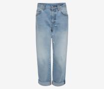 Denim-Jeans im Boyfriend-Stil