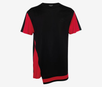 T-Shirt im Patchwork-Stil