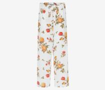 Pyjamahose mit Foulard-Print
