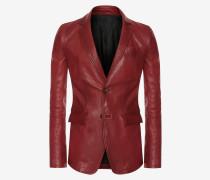 Jacke aus Antik-Lammleder