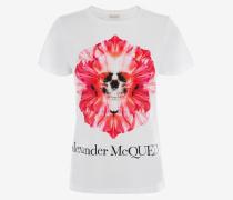 T-Shirt Flower Skull