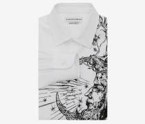 """Hemd mit """"Flower & Moon""""-Stickerei"""