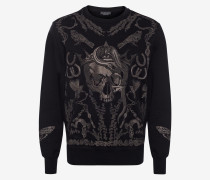 Sweatshirt Treasure Skull