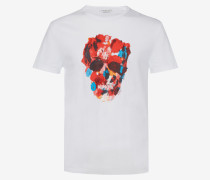 T-Shirt Painter's Palette Skull