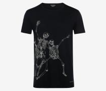 T-Shirt Jumping Skeleton