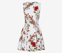 Mini-Kleid Poppyfield aus Popelin