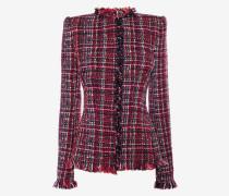Schmal geschnittene Tweedjacke