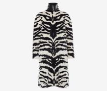 Mantel aus Jacquard mit Tiger-Muster
