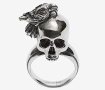Ring Raven and Skull