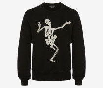 "Sweatshirt ""Dancing Skeleton"""