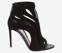 Sandalen mit Käfig-Silhouette