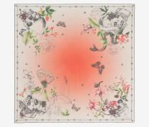"Foulard ""Wild Botanical Skull"""