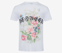 T-Shirt Rose Skull