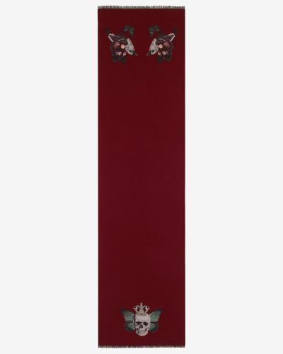 Foulard Monarch Skull