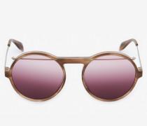 """Sonnenbrille """"Evolution"""" aus Acetat mit Piercing-Detail"""