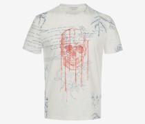 T-Shirt mit Explorer-Print
