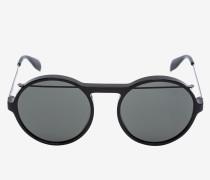 Runde Sonnenbrille aus Acetat mit Piercing-Detail