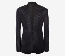 Couture-Jacke mit Nadelstreifen