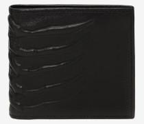 Brieftasche in Käfig-Optik