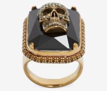 Ring Jewelled Skull