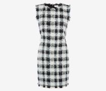 Minikleid aus Bouclé-Tweed