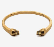 Armband mit Twin Skulls