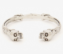 Armband mit Twin Skull