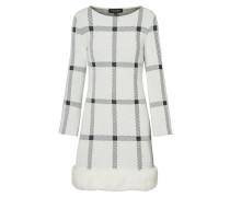 Fake Fur Kleid Pramila Weiß