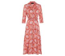 Midi Kleid Tefrole Rot
