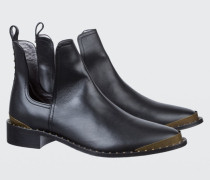 URBAN COOLNESS metal cap ankle boot 38