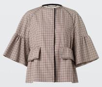 JOYOUS CHECK jacket sleeve 3/4 2