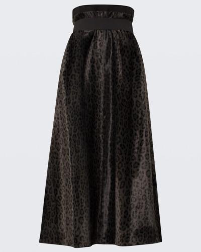 LEOPARD DELUXE highwaisted skirt 2