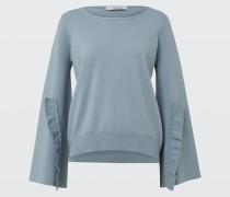 BUTTON UP pullover o-neck 1/1 2