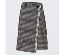 POETIC CONTRAST wrap skirt 2