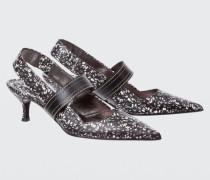 FLORAL FUSION printed kitten heel (5cm) 38