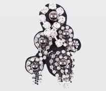 ROCK GLAM felt embroidery brooch