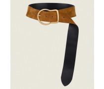 WESTERN SPIRIT 6cm buckle belt 80