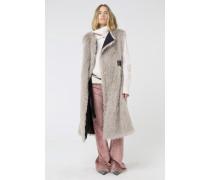 FLUFFY TOUCH coat sleeveless 2