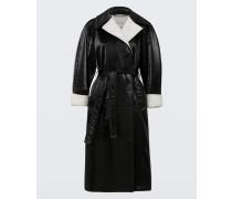 INFINITE GLOSS coat outdoor sleeve 1/1 2