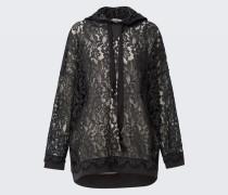 SPORTY LACE hoodie sweatshirt 1/1 2