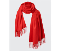 ELEGANT EASE scarf with fringed ends