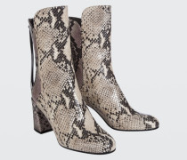 PATCHED PERFECTION snake mix boot (7cm) 37