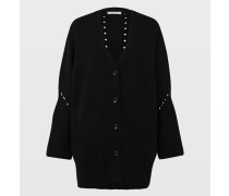 REBELIOUS COMPANION cardigan v-neck with studs 1/1 2