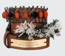 DELIGHTFULLY DECORATED embellished skinny bracelet