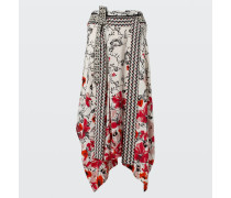 MOVING FLORALS skirt 4